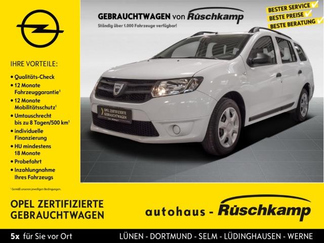 Dacia Logan MCV II Ambiance 1.2 16V 75 Klima CD AUX USB MP3 Seitenairb. Gar. Radio, Jahr 2014, Benzin