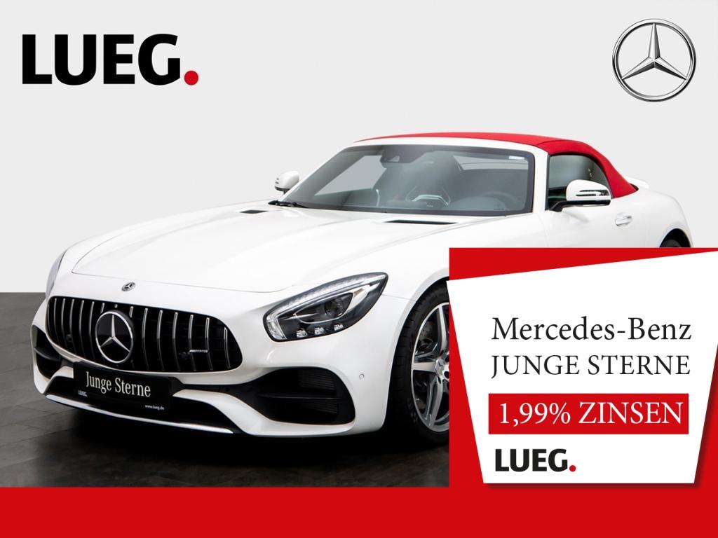 Mercedes-Benz AMG GT Roadster COM+Burm+LED+AbGas+PerfSitz+RFK+, Jahr 2018, Benzin