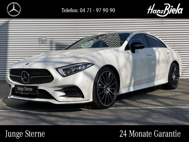 Mercedes-Benz CLS 400 d 4M AMG/Nightp/Wide/Burm/Massage/AHK, Jahr 2019, Diesel