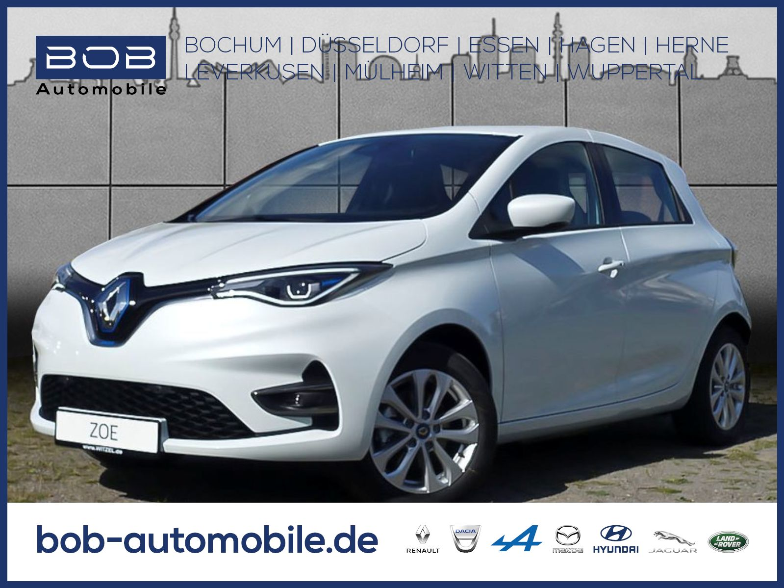 Renault ZOE EXPERIENCE R135 Z.E 50 100% Elektrisch NAVI, Jahr 2019, Elektro
