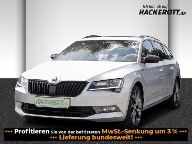 Skoda Superb Combi SportLine 2.0 TDI Bi-Xenon AD e-Sitze Rückfahrkam. El. Panodach Panorama, Jahr 2017, Diesel