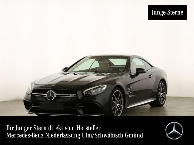 Mercedes-Benz SL 63 AMG Sportpaket Bluetooth Navi LED Vollleder, Jahr 2019, Benzin