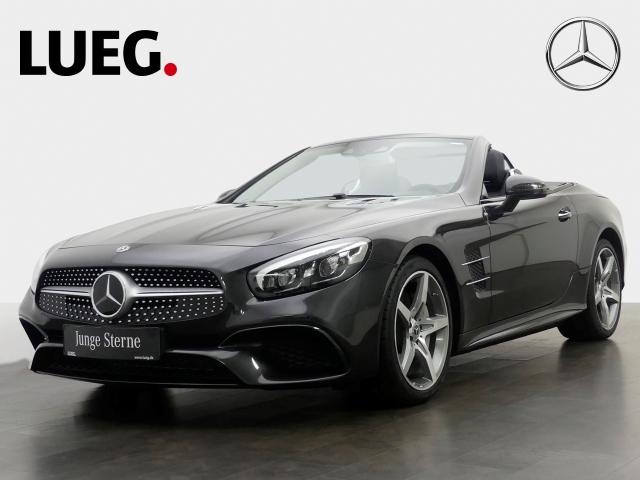 Mercedes-Benz SL 400 COM+Pano+H&K+Distr+LED+RFK+, Jahr 2018, petrol