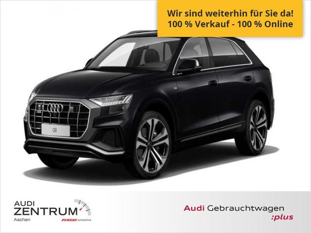Audi Q8 50 TDI quattro S-line Euro 6, B O Soundsystem, Jahr 2019, Diesel