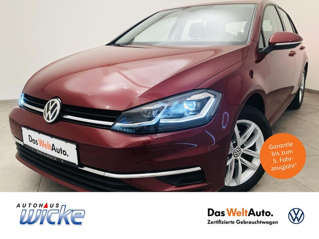Volkswagen Golf VII 1.0 TSI Comfortline Klima Navi ACC LED, Jahr 2019, Benzin
