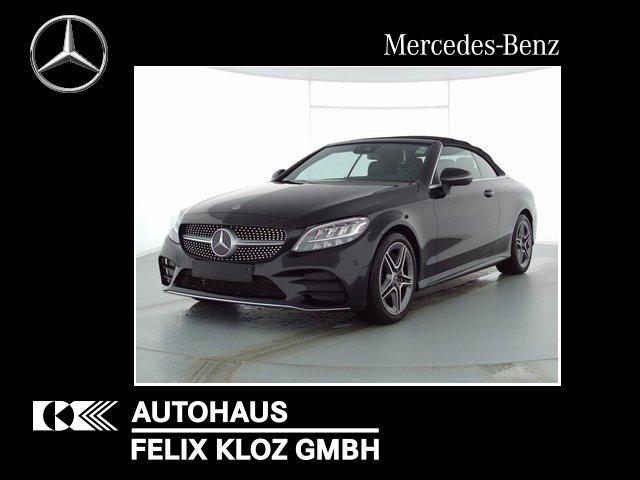 Mercedes-Benz C 180 Cabrio AMG Kamera Navi LED Assistenz-Paket, Jahr 2020, Benzin