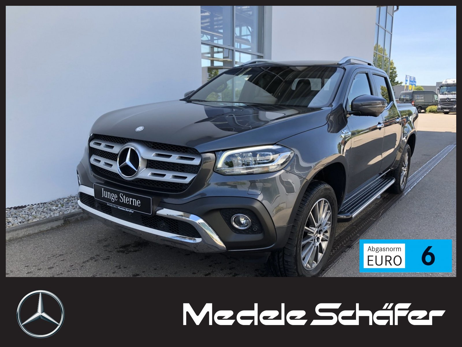 Mercedes-Benz X 350 V6 4MATIC*POWER*COMAND LEDER*LED*AHK*ROLLO, Jahr 2019, Diesel