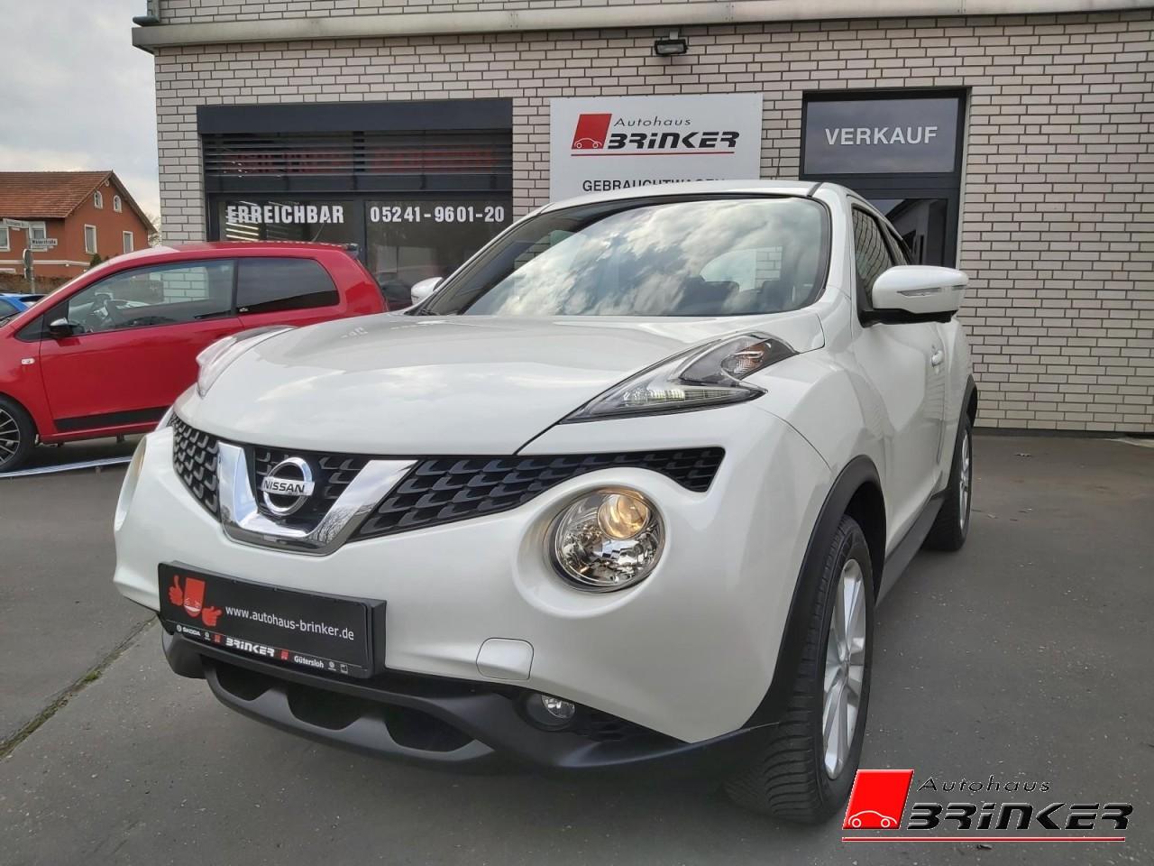 Nissan Juke 1.2 DIG-T Acenta Klima Fenster el., Jahr 2015, Benzin