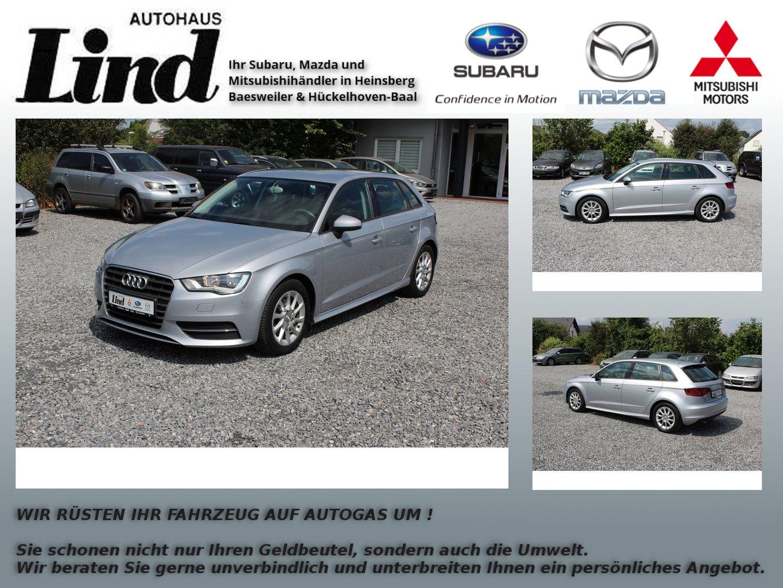 Audi A3 Sportback Attraction ultra, Jahr 2014, diesel