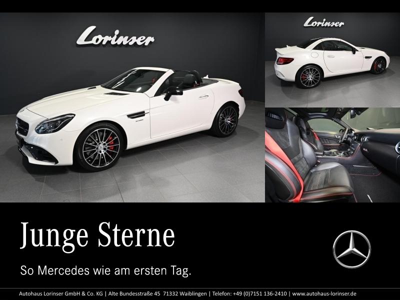 Mercedes-Benz SLC 43 AMG COMAND/LED/PERFORMANCE PACK./NIGHT, Jahr 2016, Benzin