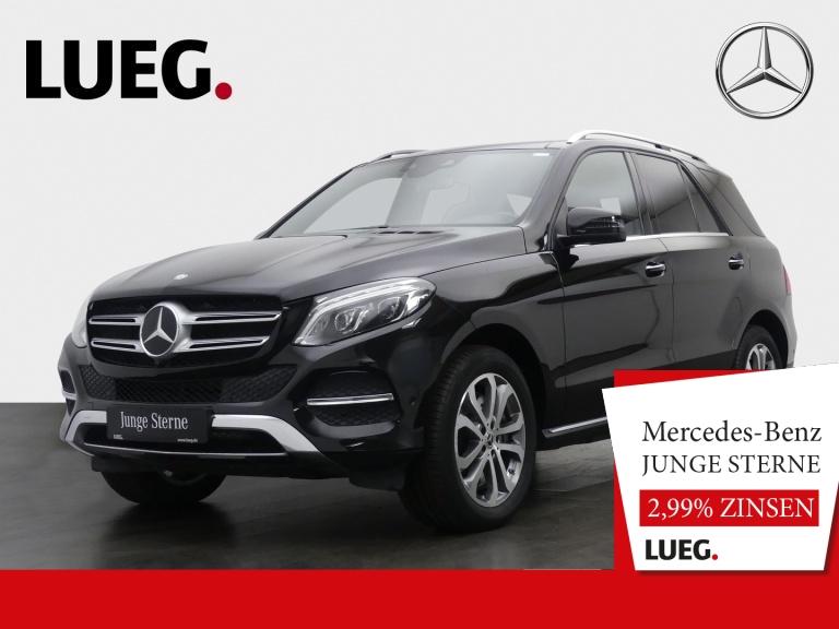 Mercedes-Benz GLE 500 4M COM+Pano+LED+Airm+Sitzkl+Mem+Dstr+360, Jahr 2017, Benzin