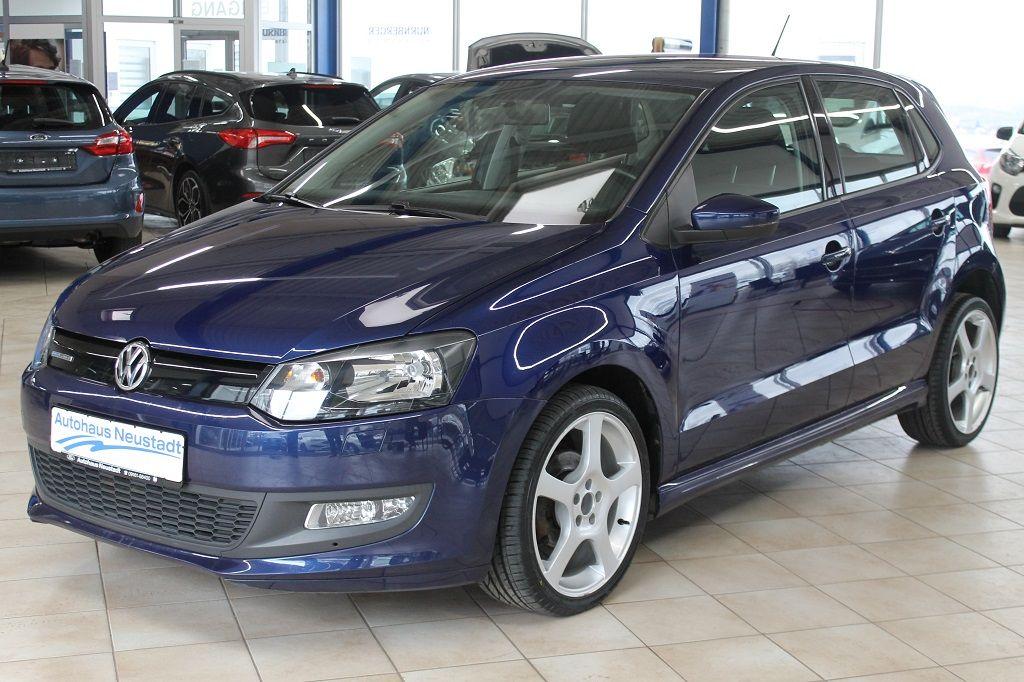 Volkswagen Polo 1.2 TDI Blue Motion, Jahr 2014, Diesel