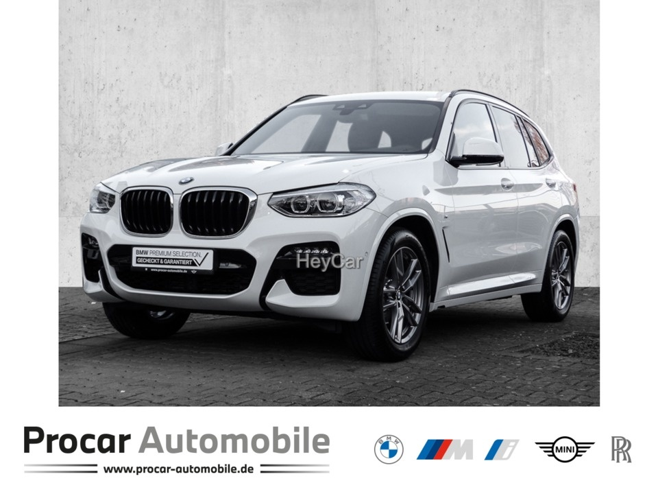 BMW X3 xDrive20d M SPORT AT Klimaaut. Head-Up HIFI, Jahr 2020, Diesel