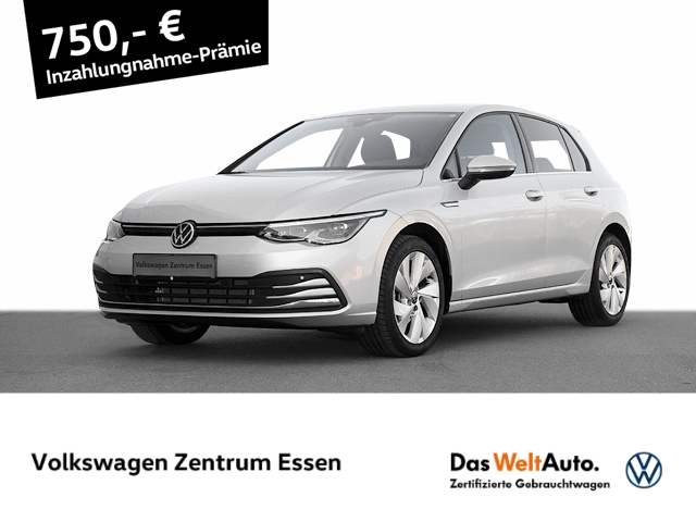 Volkswagen Golf Style 1 5 TSI LEDPlus NaviPro SHZ ACC DAB, Jahr 2020, Benzin