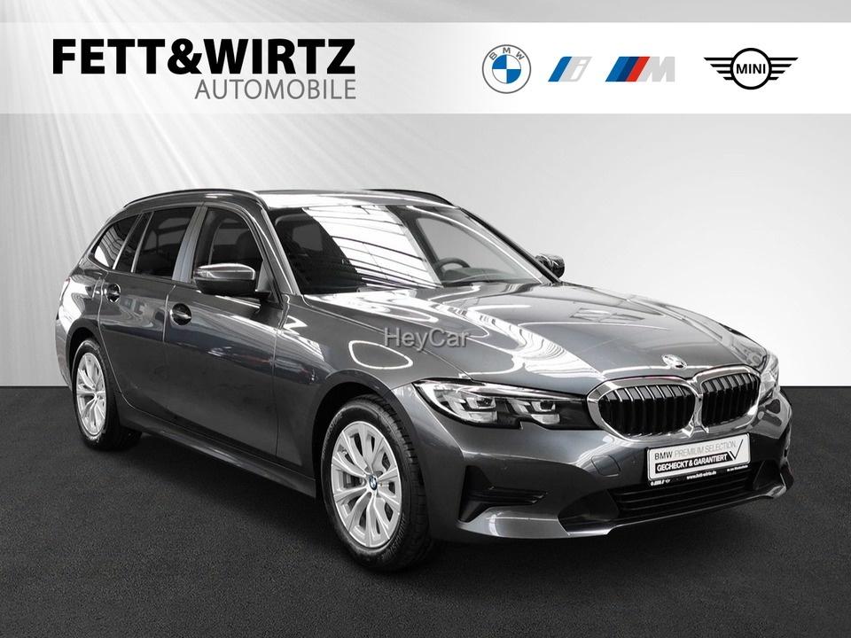 BMW 318d Touring Adv. Aut. LiveCockp.-Prof. SHZ PDC, Jahr 2020, Diesel