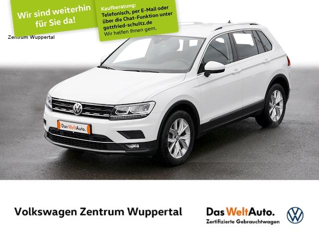 Volkswagen Tiguan 1,4 TSI Highline DSG 4M LED NAVI AHK STANDHZG, Jahr 2017, Benzin