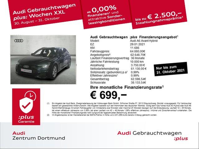 Audi A6 Avant 55 TFSIe qu. S line/Matrix/ACC/eSitze/19Zoll, Jahr 2021, Hybrid