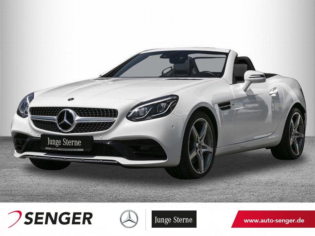 Mercedes-Benz SLC 180 **AMG**9G-Tronic*Navi*PTS*AIRSCARF*LED*, Jahr 2019, Benzin