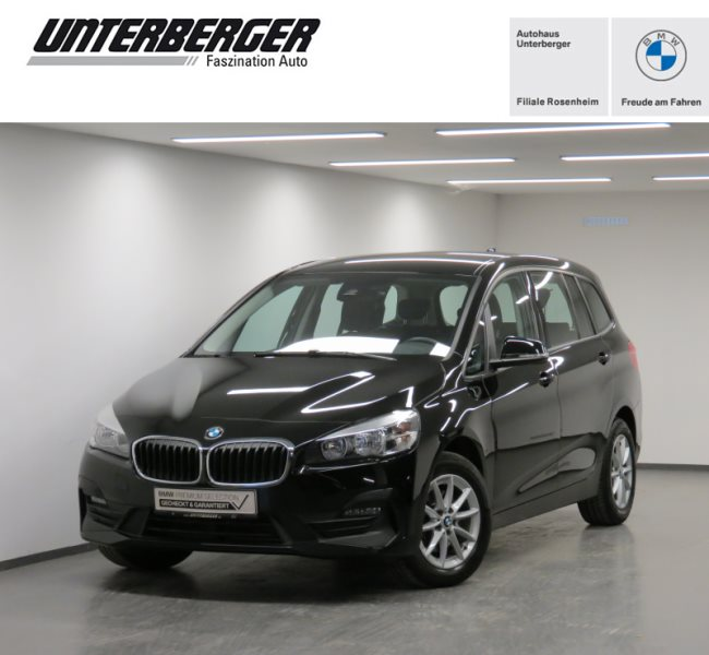 BMW 216d Gran Tourer Advantage Navi Tempomat Shz, Jahr 2018, Diesel