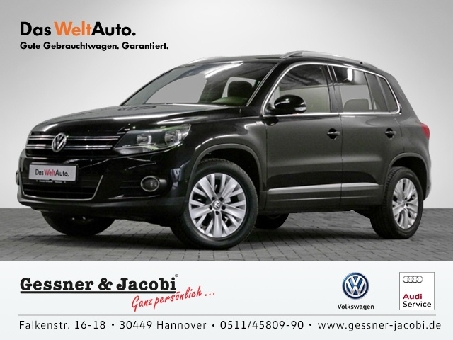 Volkswagen Tiguan 1.4 TSI BMT EU5 BMT Life Klima Einparkhilfe, Jahr 2013, Benzin