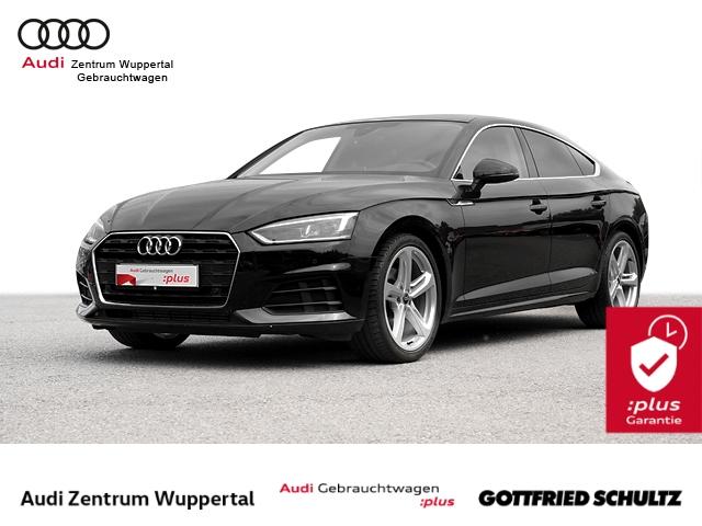 Audi A5 Sportback 2.0TFSI AHK PANO LANE VIRTUAL DRIVE CONNECT LED NAV SHZ PDC VO HI GRA 19ZOLL, Jahr 2018, Benzin