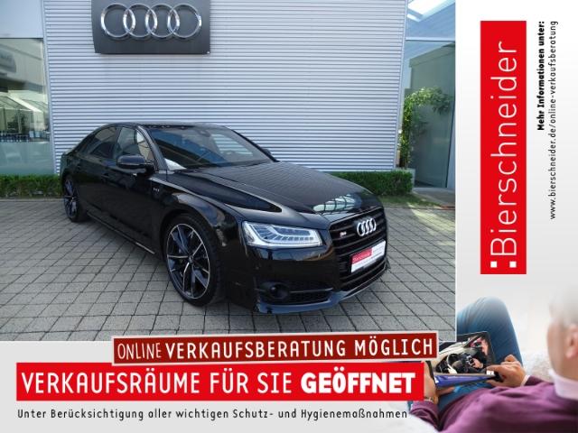 Audi S8 plus 4.0 TFSI exclusive Standheizung SD Keramik Bose DAB Technologie-Pak. Matrix Leder Massage+Sitzbelüftung PDC+Kameras A, Jahr 2017, Benzin