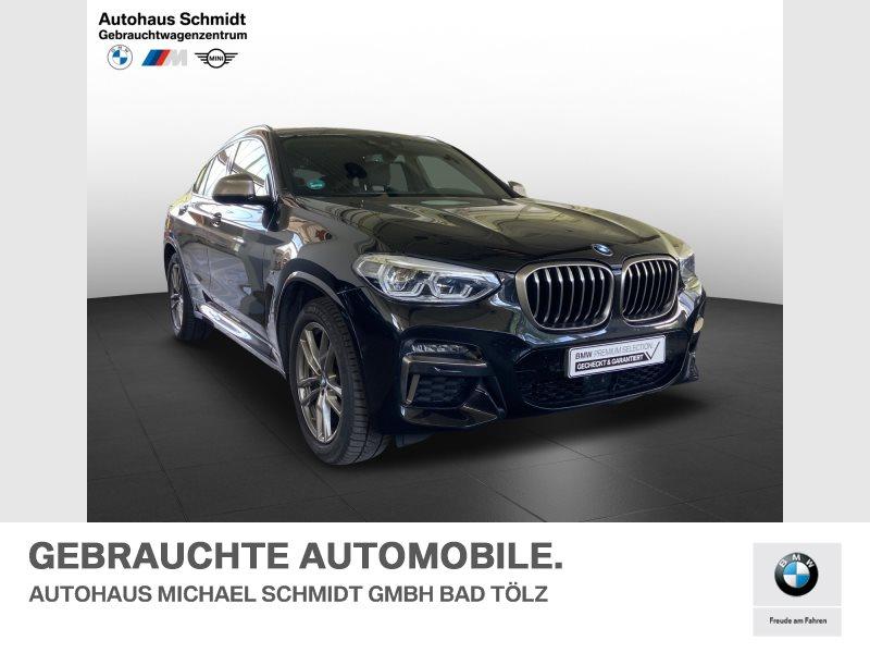 BMW X4 M40i Panorama*AHK*ACC*Head Up*Galvanik*, Jahr 2020, Benzin