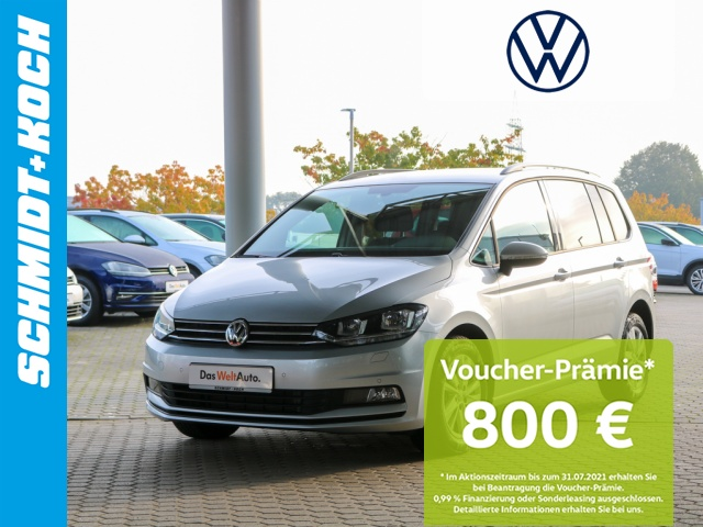 Volkswagen Touran 2.0 TDI DSG Comfortline 7-Sitzer Navi PDC, Jahr 2019, Diesel