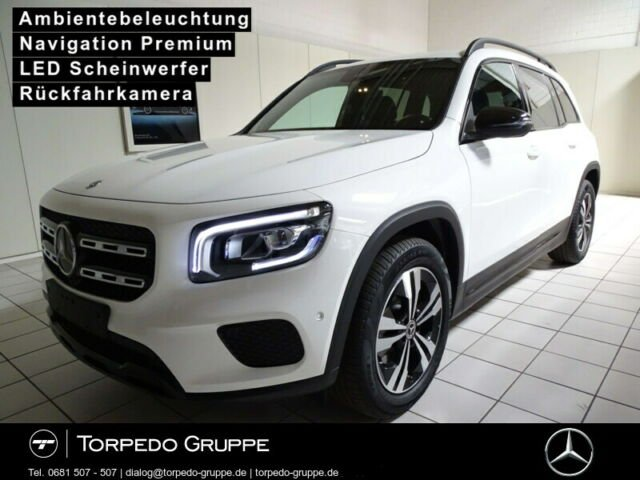 Mercedes-Benz GLB 200 PROGRESSIVE LED+NIGHT+KAMERA+PTS+SHZ+KLI, Jahr 2020, Benzin