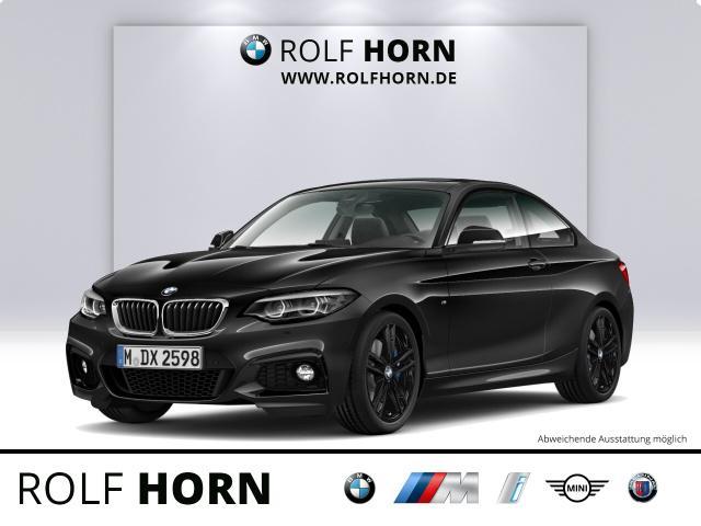 BMW 225dA Coupe M Sportpaket Navi AHK PDC LED h&k, Jahr 2018, Diesel