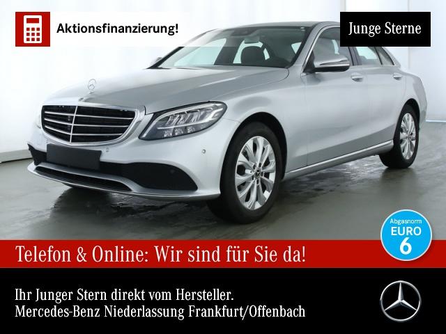Mercedes-Benz C 180 Exclusive SHD LED Kamera PTS Sitzh Temp, Jahr 2019, Benzin