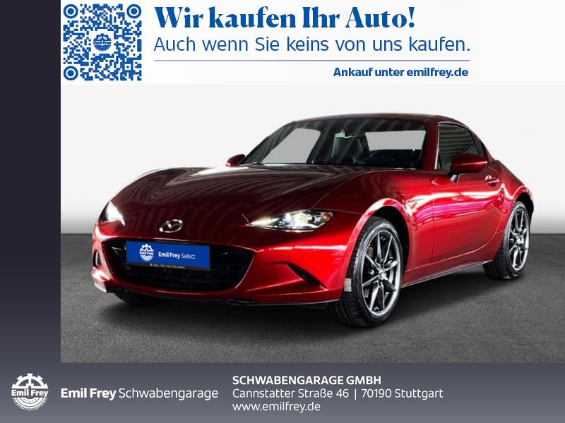 Mazda MX-5 SKYACTIV-G 160 i-ELOOP Sports-Line, Jahr 2018, Benzin