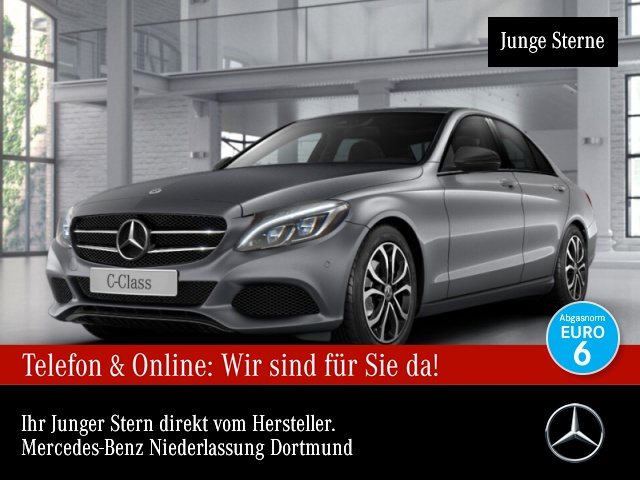 Mercedes-Benz C 220 d Avantgarde COMAND ILS LED Night Kamera PTS, Jahr 2017, Diesel