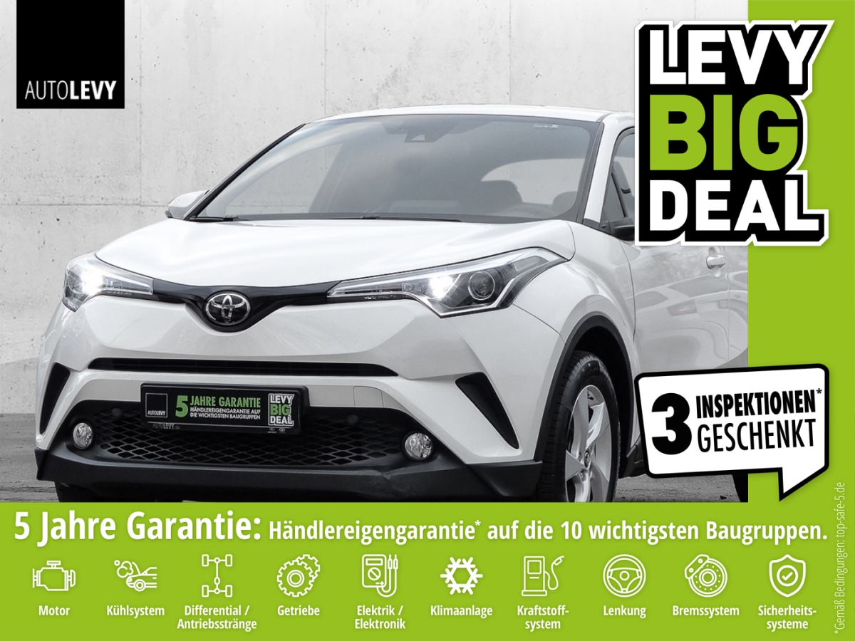 Toyota C-HR 1.2 Turbo Flow *SAFETY SENSE*8-FACH BEREIFT, Jahr 2017, Benzin