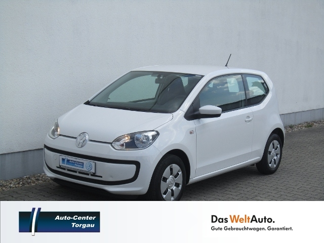 Volkswagen up! 'move up' 1.0 KLIMA+RADIO+ZV, Jahr 2016, petrol