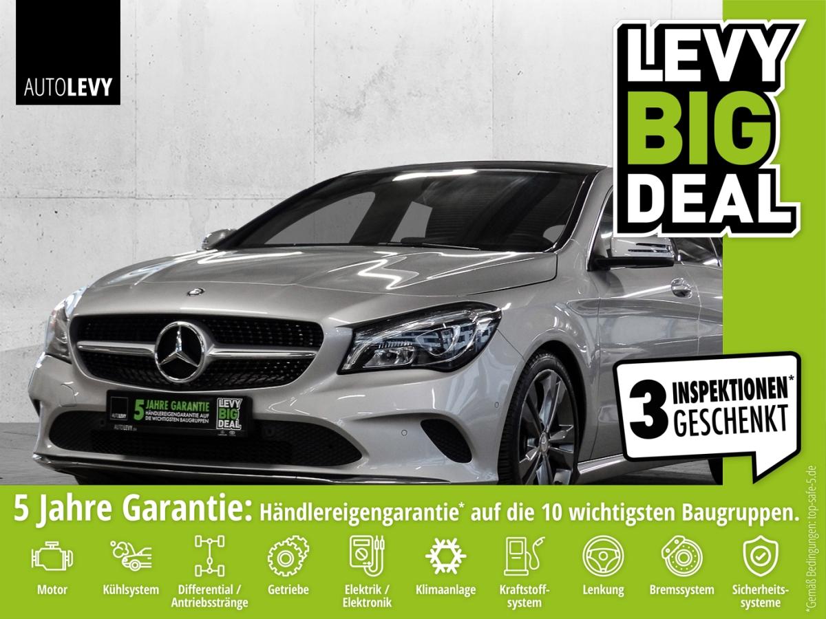 Mercedes-Benz CLA 200 Shooting Brake 7G SHZ*SD-PANO*RFK*PDC, Jahr 2017, Benzin