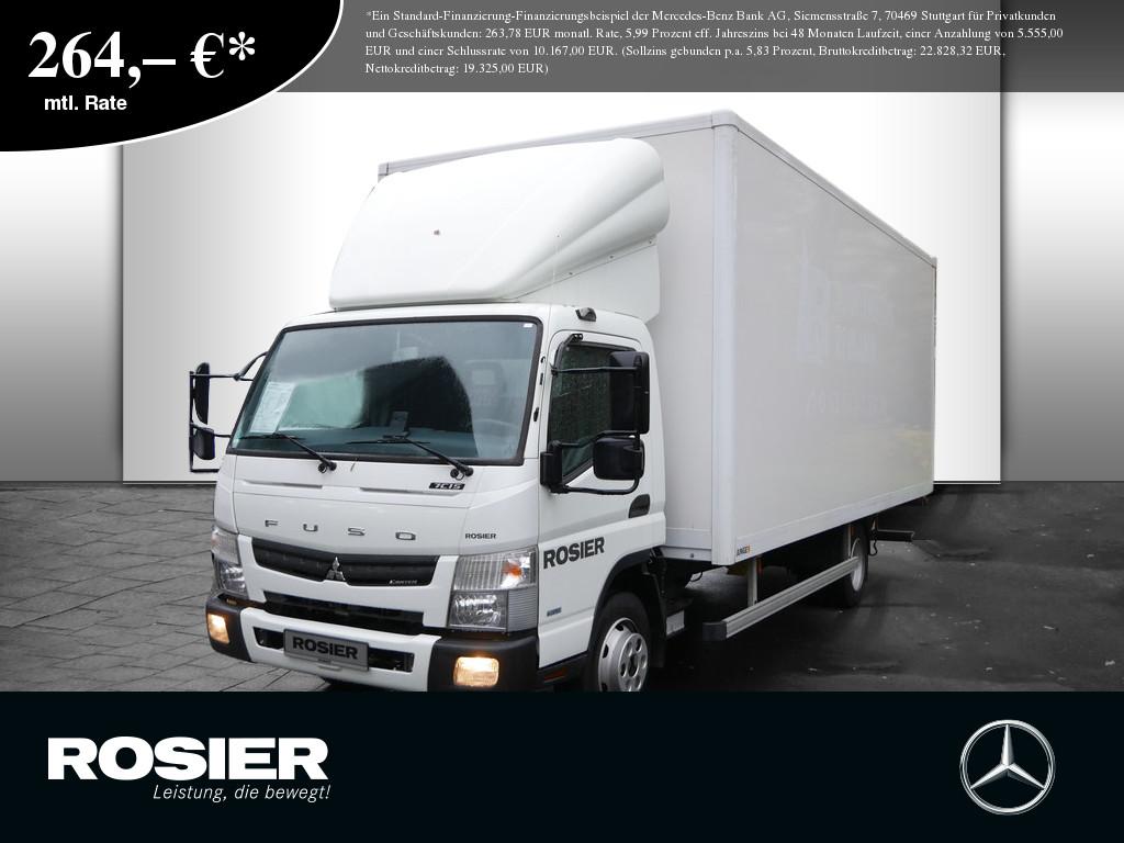 Mitsubishi Canter 7C15 Koffer, Jahr 2016, Diesel