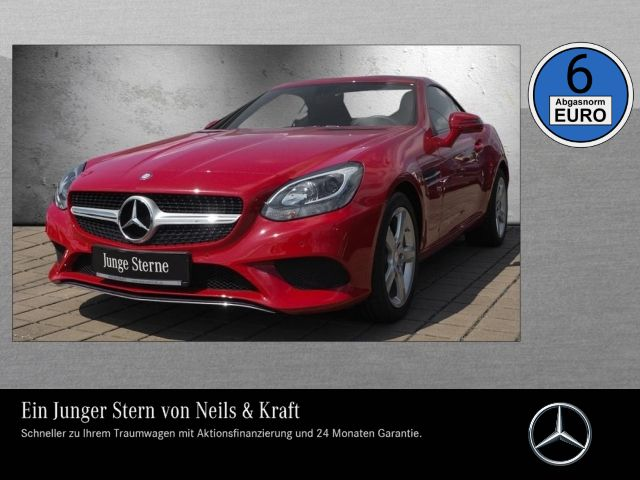 Mercedes-Benz SLC 180 +PANORAMADACH+PARKTRONIC+KLIMA+LED TFL+, Jahr 2016, petrol