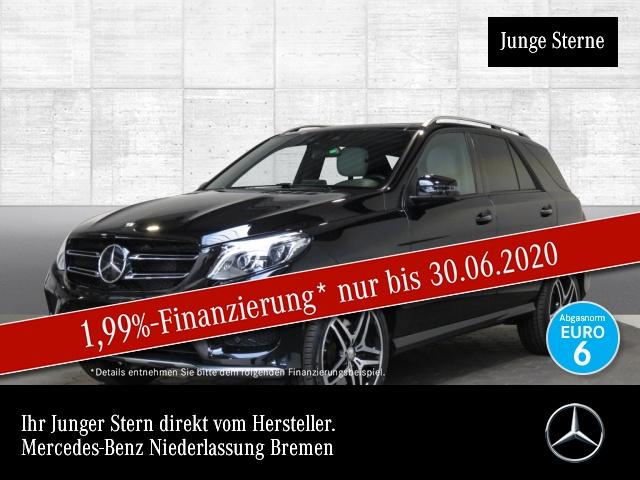 Mercedes-Benz GLE 450 AMG 4M 360° Airmat Pano Harman Distr+ AHK, Jahr 2016, Benzin