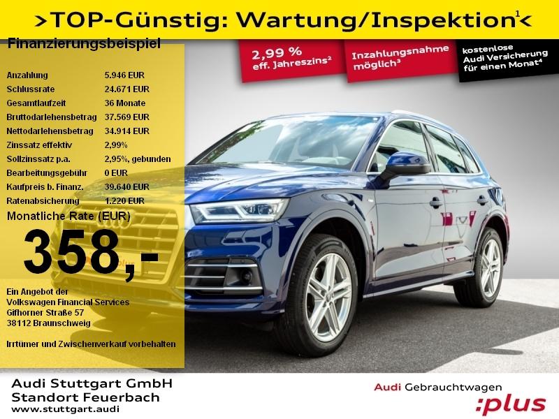 Audi Q5 2.0 TDI quattro S line AHK ACC Keyless virtCo, Jahr 2018, Diesel