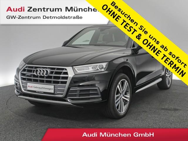 "Audi Q5 2.0 TDI qu. Sport Pano Virtual Navi Leder 20"" PDCplus S tronic, Jahr 2018, diesel"