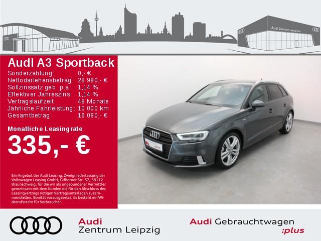 Audi A3 Sportback 30 TFSI sport *S-line*LED*Navi*B&O*, Jahr 2019, Benzin