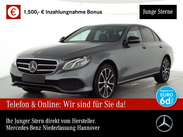 Mercedes-Benz E 220 d Avantgarde Fahrass.Night.LED.SpiegelP., Jahr 2019, Diesel