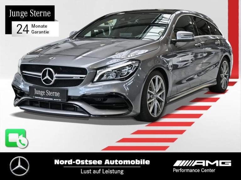 Mercedes-Benz CLA 45 AMG 4M SB Comand Designo LED Pano DCT-7G, Jahr 2019, Benzin