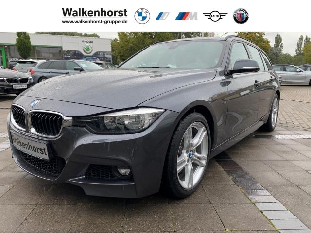 BMW 318 d M Sport Touring EURO 6 Temp Klima Navi AHK, Jahr 2016, Diesel