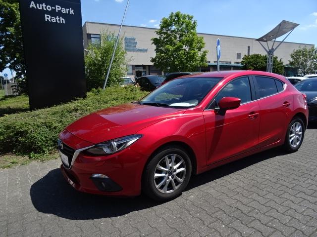 Mazda 3 120 PS CENTER-LINE LICHT-PAKET*NAVI*PDC*Allwetterreifen*, Jahr 2015, Benzin