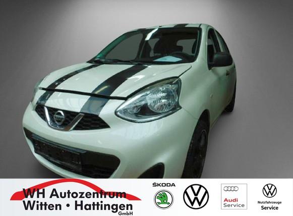 Nissan Micra 1.2 Visia First KLIMA BLUETOOTH SERVO ZV, Jahr 2014, Benzin