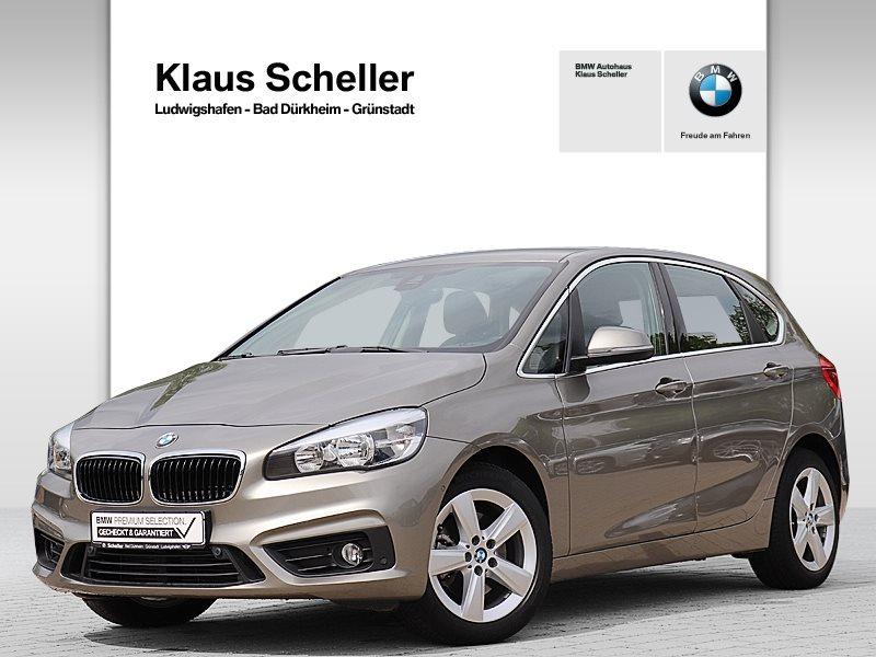 BMW 220d Active Tourer Advantage RFK Navi Tempomat, Jahr 2015, Diesel