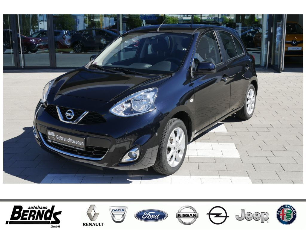 Nissan Micra 1.2 Acenta Navi Klima Kamera Bluetooth, Jahr 2014, Benzin