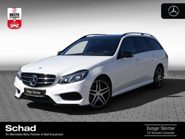 Mercedes-Benz E 300 T +AMG+PANO+AVANTGARDE+DISTRON+360+MEMORY+, Jahr 2015, Diesel